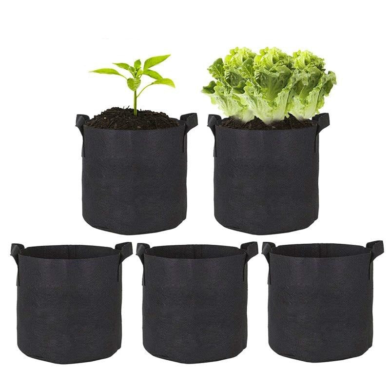 Heavy Duty Grow Bag Pots With Handles
