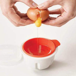 Microwaveable Double Egg Poacher