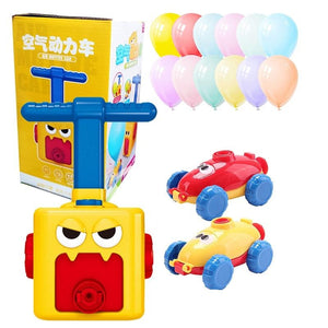 Balloon Powered Car Balloon Launcher Toy
