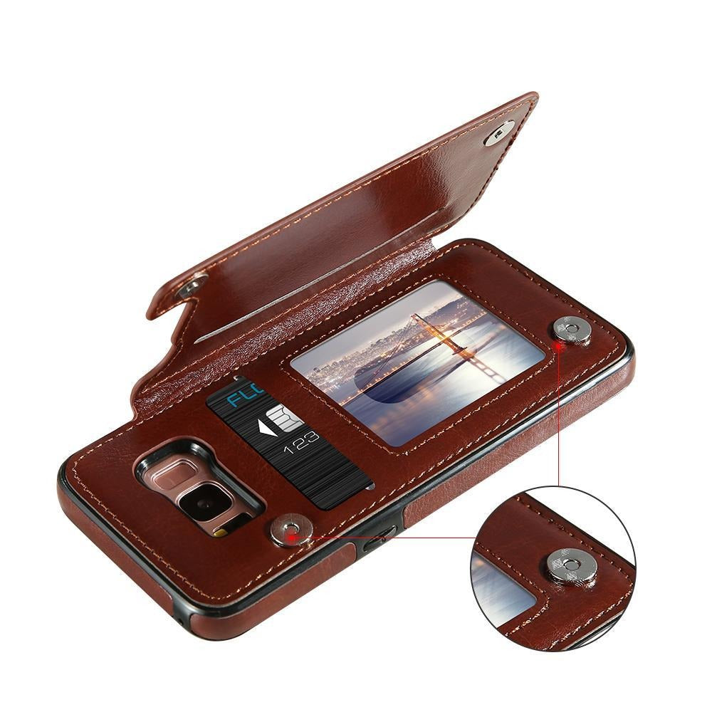 4 in 1 Luxury Leather Case For Samsung Galaxy