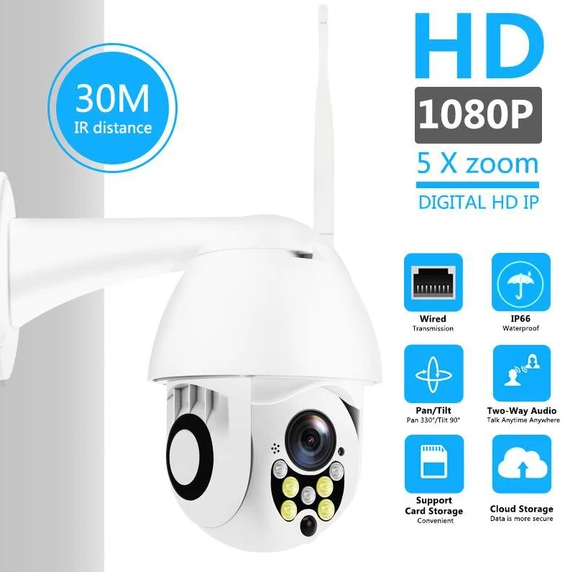 1080P 5X Zoom Wireless Outdoor Camera