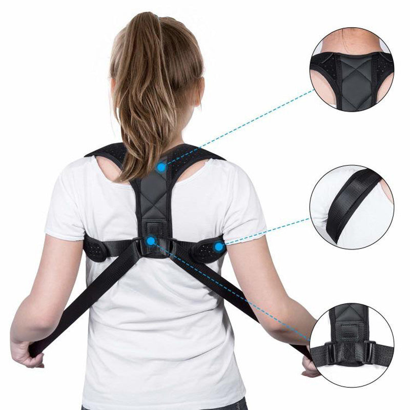 Posture Corrector Back Brace Slouch Fixer