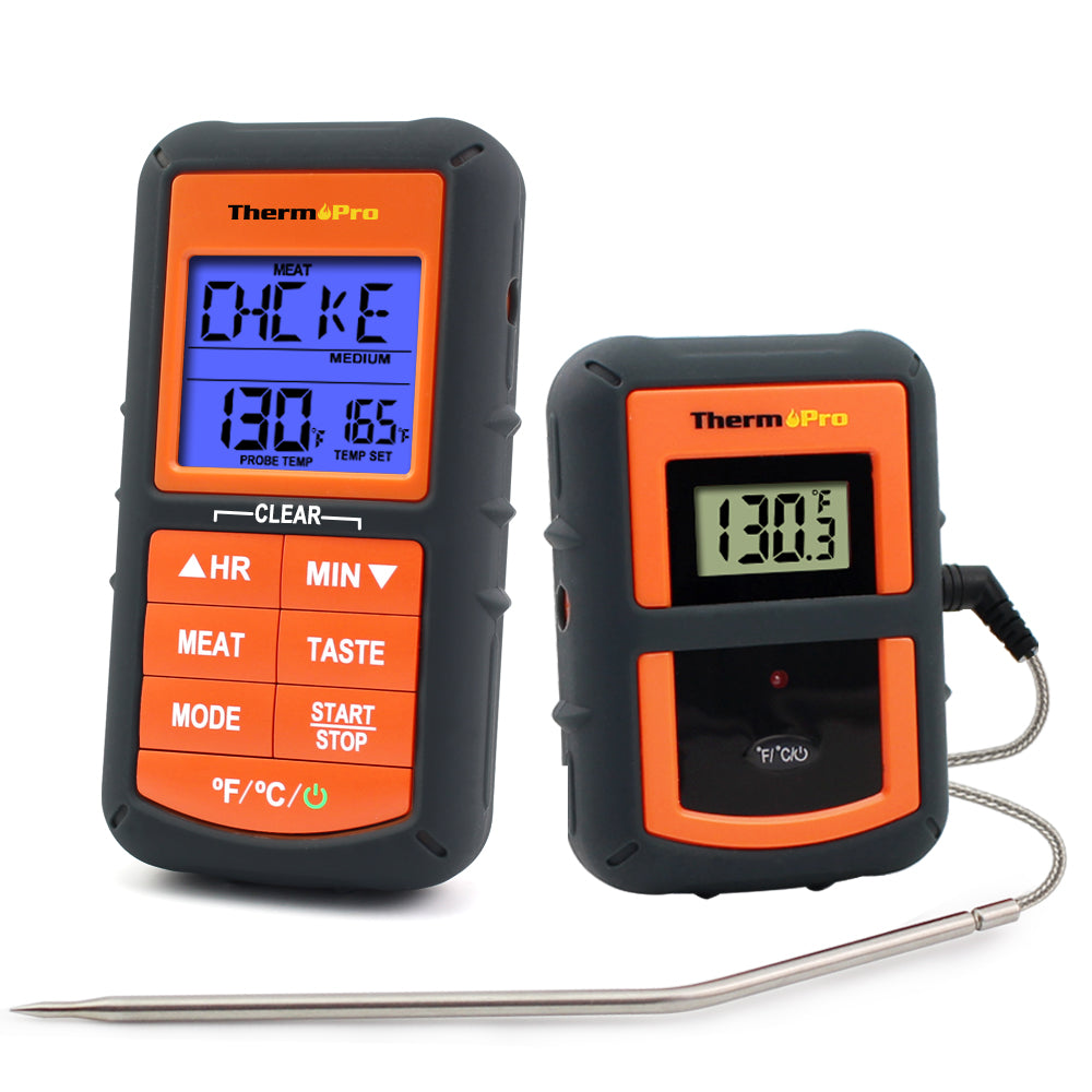 Wireless BBQ Meat Thermometer Digital Cooking Thermometer with Probe