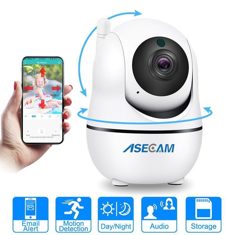 Auto Tracking Home Security Camera