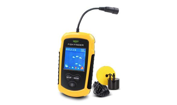 Portable Sonar LCD Fish Finder