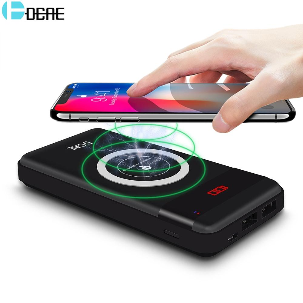 Power Bank Wireless Charger Pad 10,000mAh