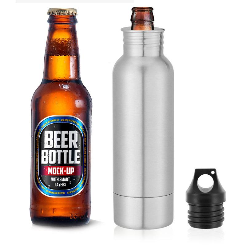 Beer Bottle Stainless Steel Cooler
