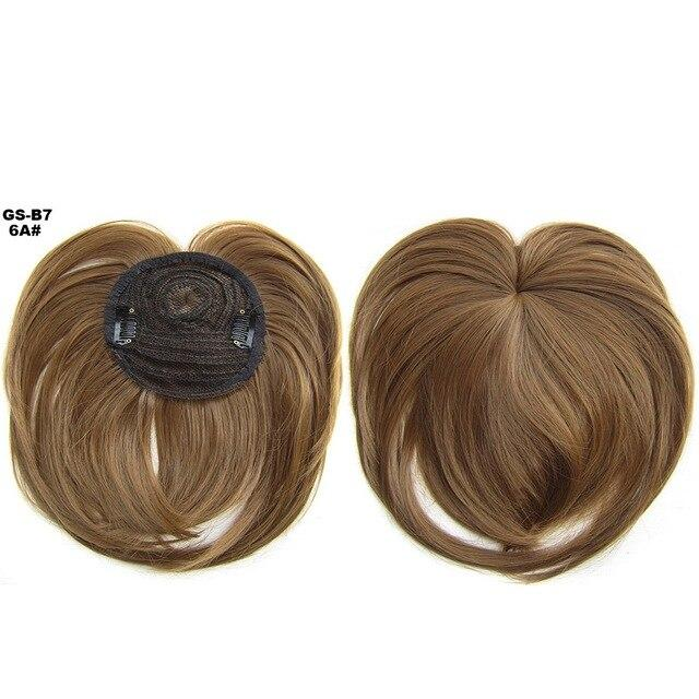 Silky Clip-On Hair Topper
