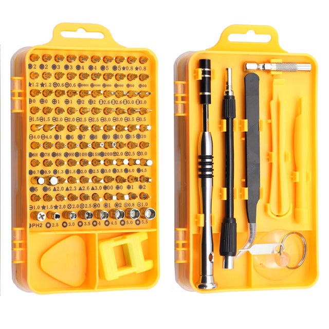 Precision Screwdriver Set (115 in 1)