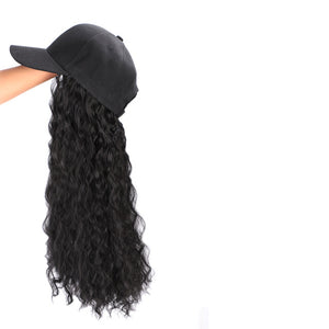 Baseball Hat With Hair Extensions