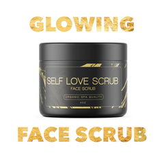 FACE SCRUB - crushed rose hip