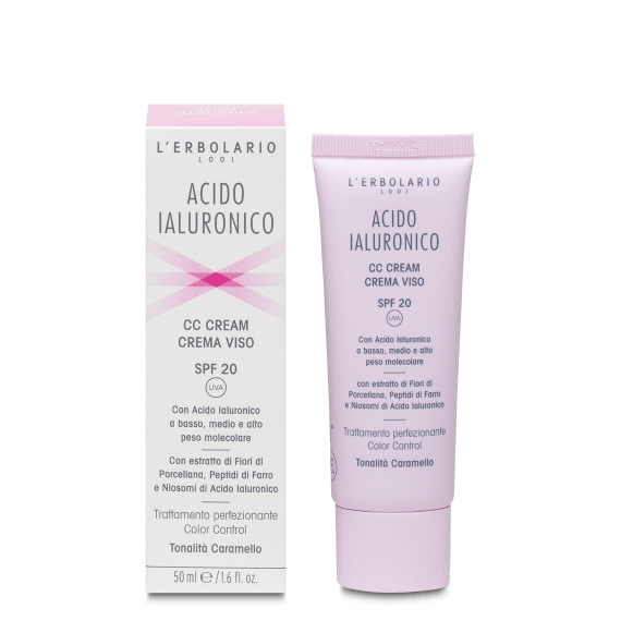 Acido Ialuronico CC Cream - Tonalità Caramello SPF20 50 ml
