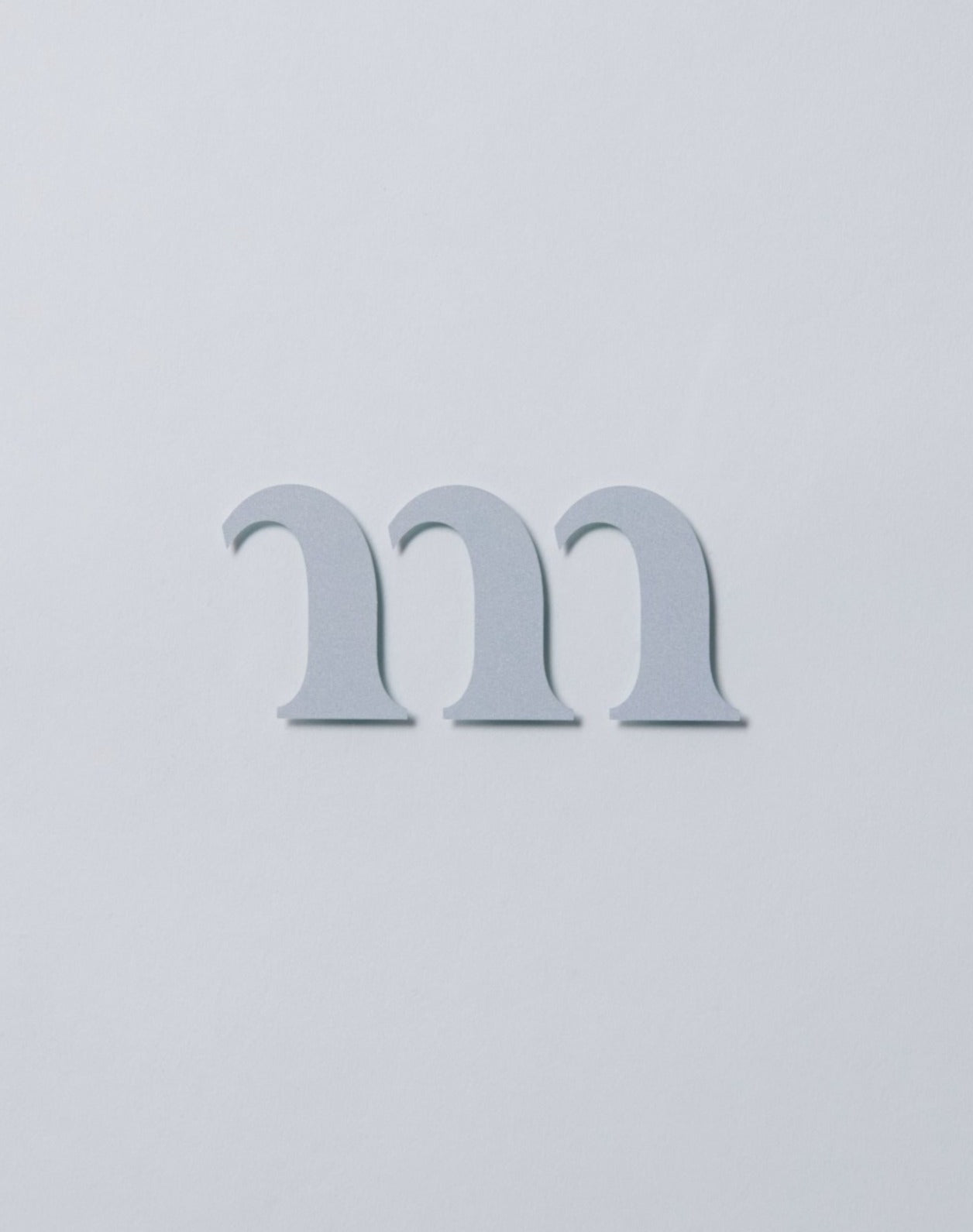 "REFLECTIVE ""m"" STICKER - muracodesigns"