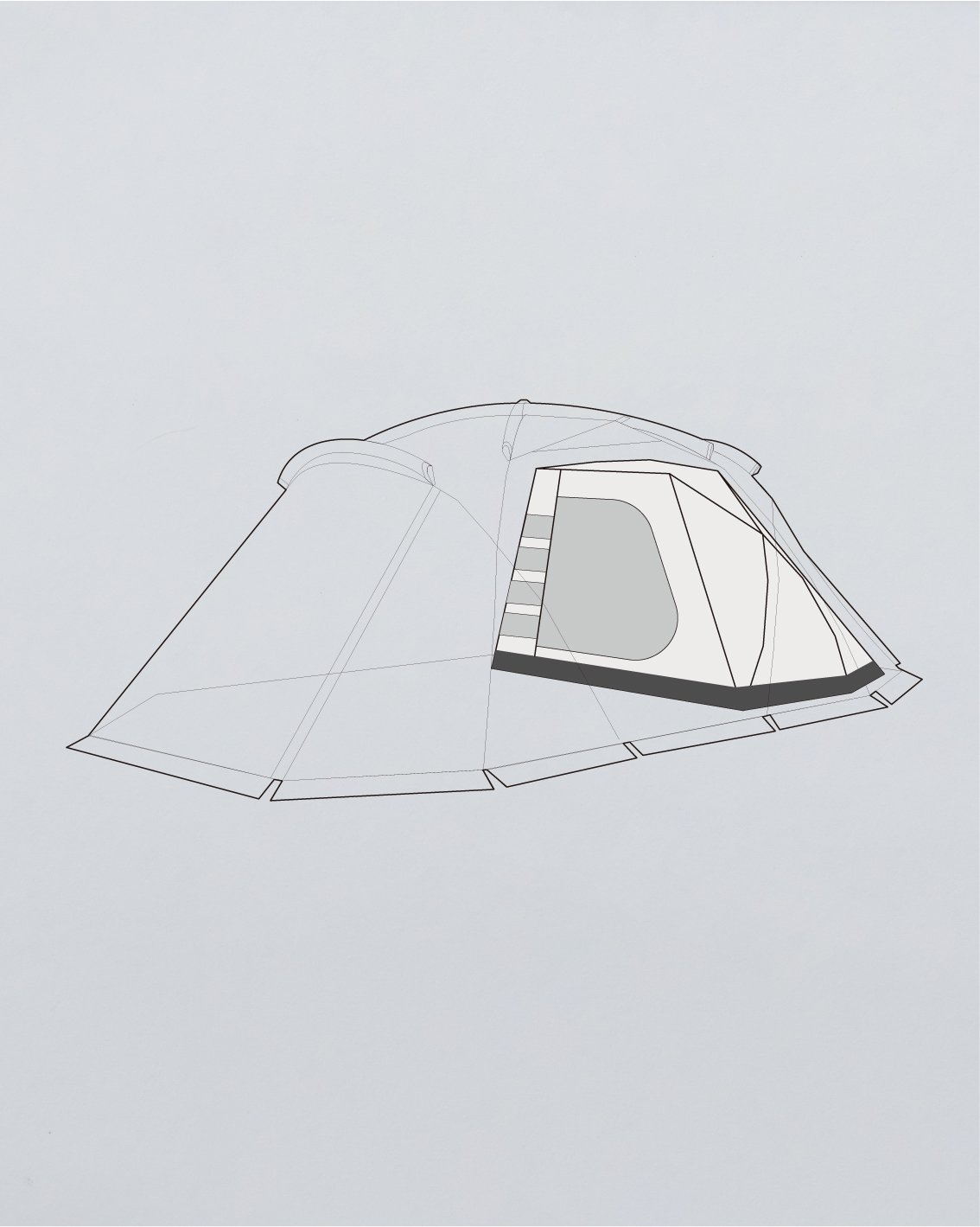 INNER TENT for ZIZ - muracodesigns