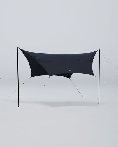 HEXA ULTRA BLACK Tarp OUTDOOR GUILD MURACO