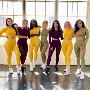 2020 Women's Sportswear Clothing Leggings shirts Workout Outfits