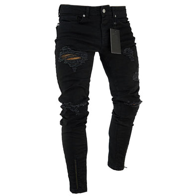 Fashion Jeans Trousers Men Clothes