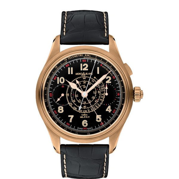 Montre Montblanc 1858 Split Second Chronograph Limited Edition - 100 pièces