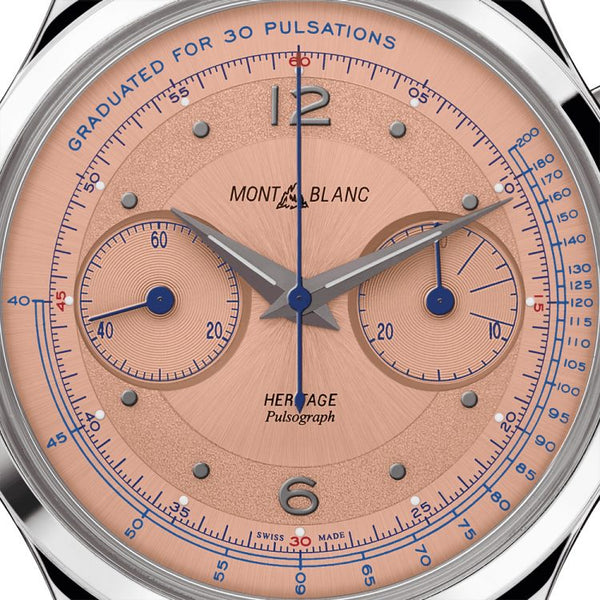 Montre Montblanc Heritage Pulsograph Limited Edition - 100 pièces