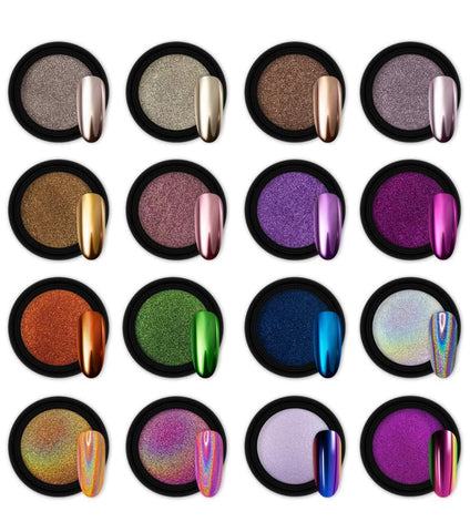 Mirror Chrome Pigments