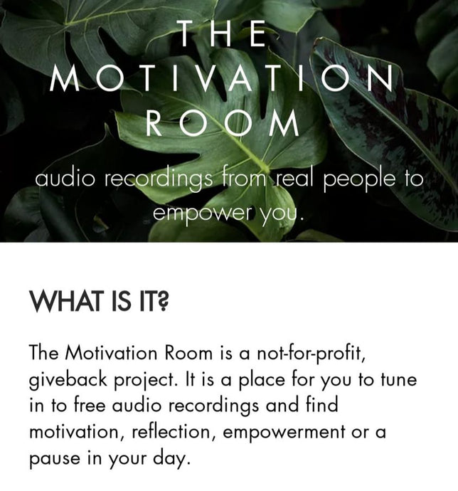 The Motivation Room