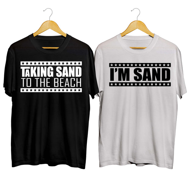 Taking Sand To The Beach