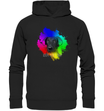 "Laden Sie das Bild in den Galerie-Viewer, Organic Hoodie ""Adopt don´t shop"""