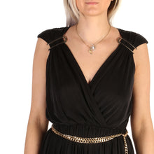 Load image into Gallery viewer, Guess Dress Sleeveless V-Neck Black - 72G743_6509Z - Moda Designer Boutique