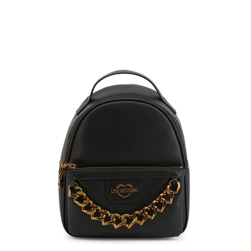 Love Moschino Women's Backpack Logo Chain - JC4096PP1BLO - Moda Designer Boutique