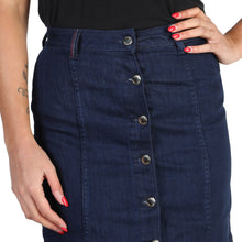 Load image into Gallery viewer, Tommy Hilfiger Skirt Blue Logo - WW0WW18433 - Moda Designer Boutique