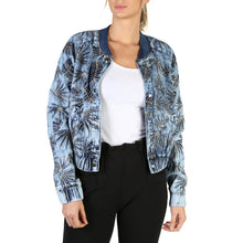 Load image into Gallery viewer, Guess W82N56 Womens Bomber Jacket Floral Print - Moda Designer Boutique