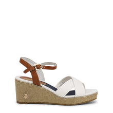 Load image into Gallery viewer, U.S. Polo Assn. Agata Women's Wedge Ankle Strap - AGATA4088S0_CY1 - Moda Designer Boutique
