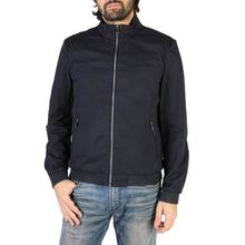 Load image into Gallery viewer, Geox Men's Jacket Blue Nights Cotton Front Zip Logo - M8221XT2468 - Moda Designer Boutique