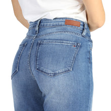 Load image into Gallery viewer, Tommy Hilfiger Women's Jeans Slim Fit Blue Logo - WW0WW16945 - Moda Designer Boutique