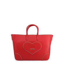 Load image into Gallery viewer, Love Moschino Shopping Bag Studded Logo Heart With Pochette - JC4247PP08KG - Moda Designer Boutique