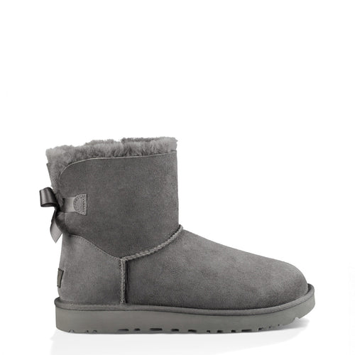 UGG MINI B BOW II Women's Ankle Boots Suede - 1016501