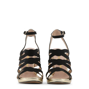 Made in Italia CLEO Sandals Heels Ankle Strap Leather - Moda Designer Boutique