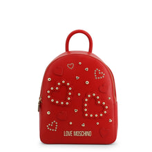 Load image into Gallery viewer, Love Moschino Women's Backpack Studded Logo - JC4036PP1ALE - Moda Designer Boutique