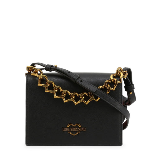 Love Moschino Crossbody Bag Logo Chain - JC4099PP1BLO - Moda Designer Boutique