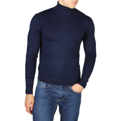 Yes Zee Men's Sweater Turtleneck Logo - 0338_M862_MR00