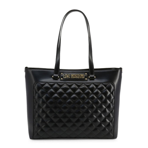 Love Moschino Shopping Bag Tote Quilted Logo - JC4003PP18LA - Moda Designer Boutique