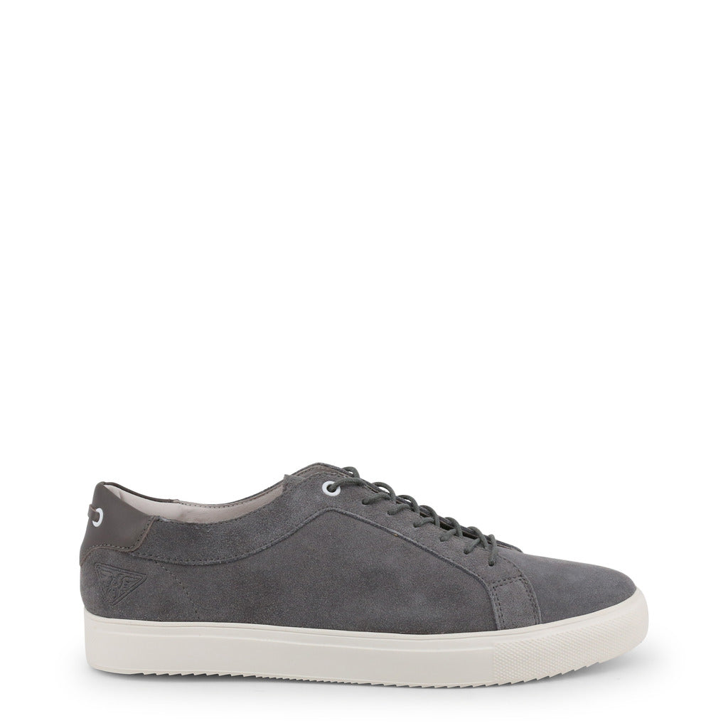 Docksteps GOLD-LOW 2252 Sneakers Men's Suede Gray - Moda Designer Boutique
