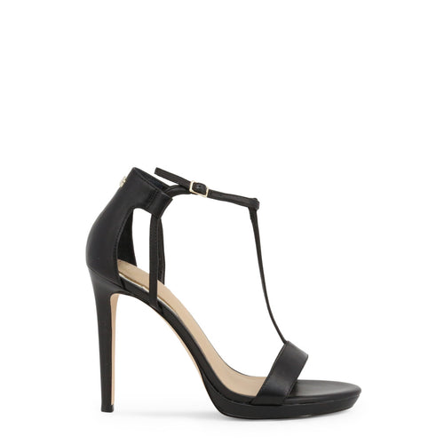 Guess 'Tecru' Sandals Leather Ankle Strap - FL6TEU_LEA03_TECRU - Moda Designer Boutique