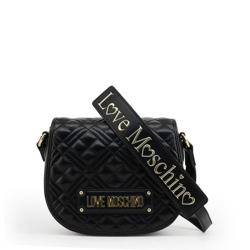 Love Moschino Crossbody Bag Quilted Logo - JC4006PP1ALA - Moda Designer Boutique