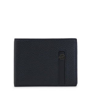 Piquadro Men's Wallet Leather Logo - PU257S86 - Moda Designer Boutique