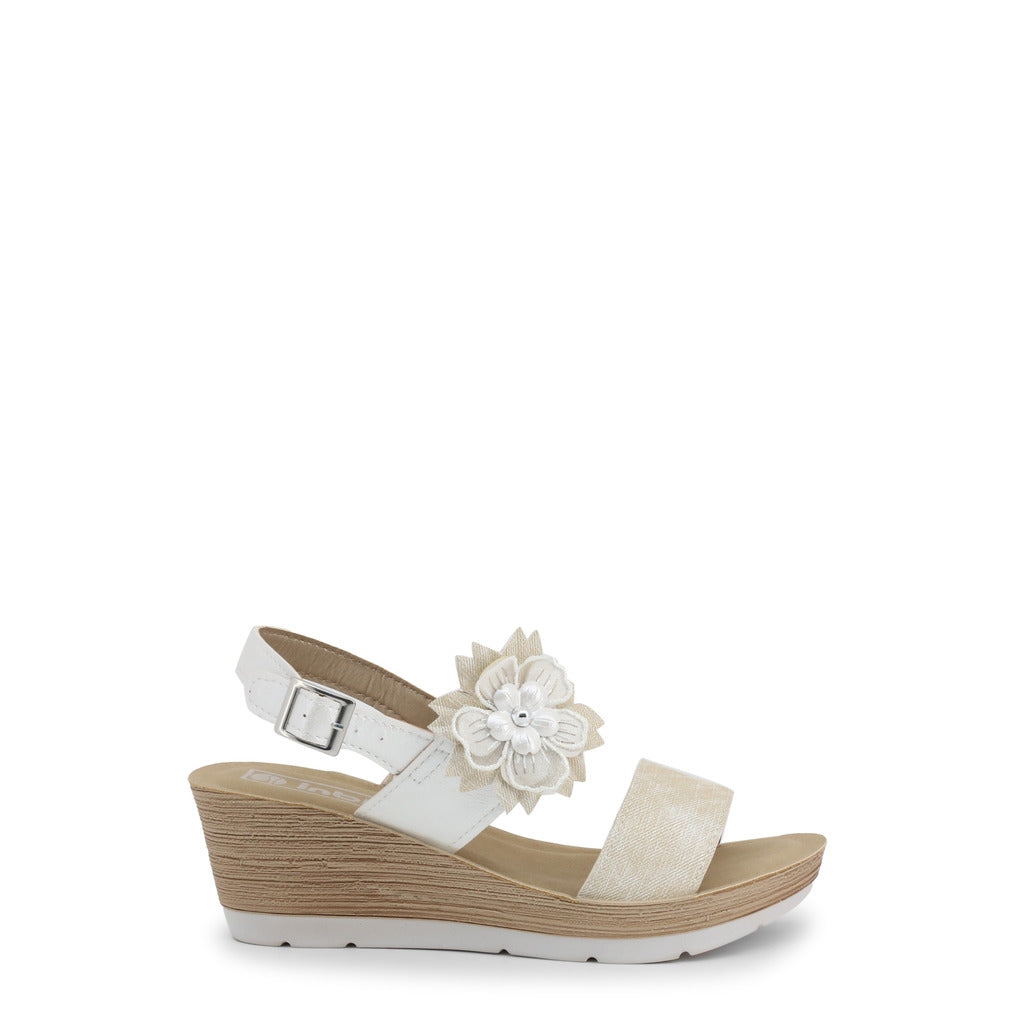 Inblu Sandals Wedges Ankle Strap - EL000013 - Moda Designer Boutique