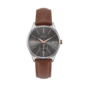 Gant LAWRENCE Women's Watch Stainless Steel Leather Strap - GTAD06700899I - Moda Designer Boutique