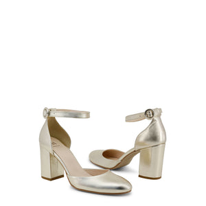 Made in Italia INSIEME Sandals Ankle Strap Leather - Moda Designer Boutique