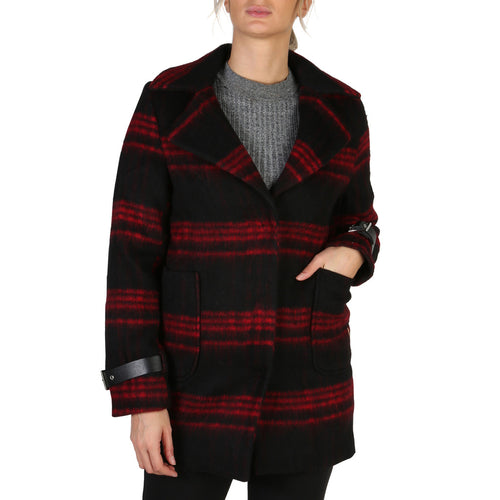Guess W84L76 Womens Coat Striped - Moda Designer Boutique