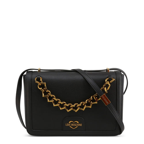 Love Moschino Crossbody Bag Logo Chain - JC4095PP1BLO